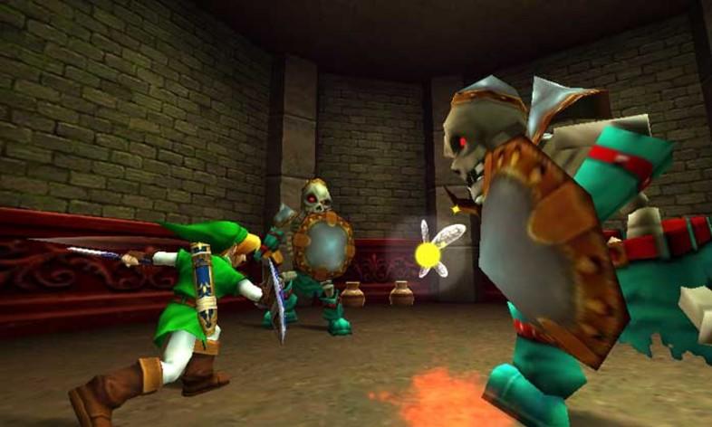 Screenshot 2 - The Legend of Zelda: Ocarina of Time 3D