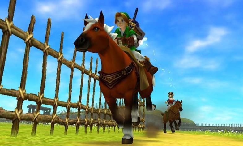 Screenshot 3 - The Legend of Zelda: Ocarina of Time 3D
