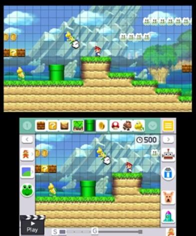 Screenshot 2 - Super Mario Maker for Nintendo 3DS