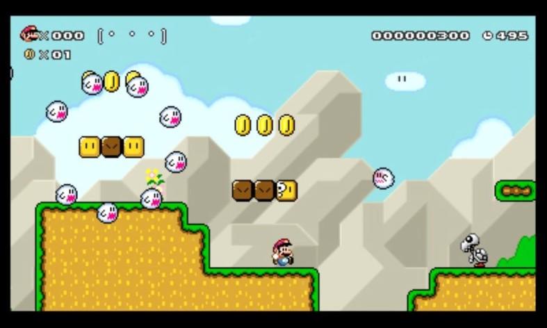 Screenshot 6 - Super Mario Maker for Nintendo 3DS