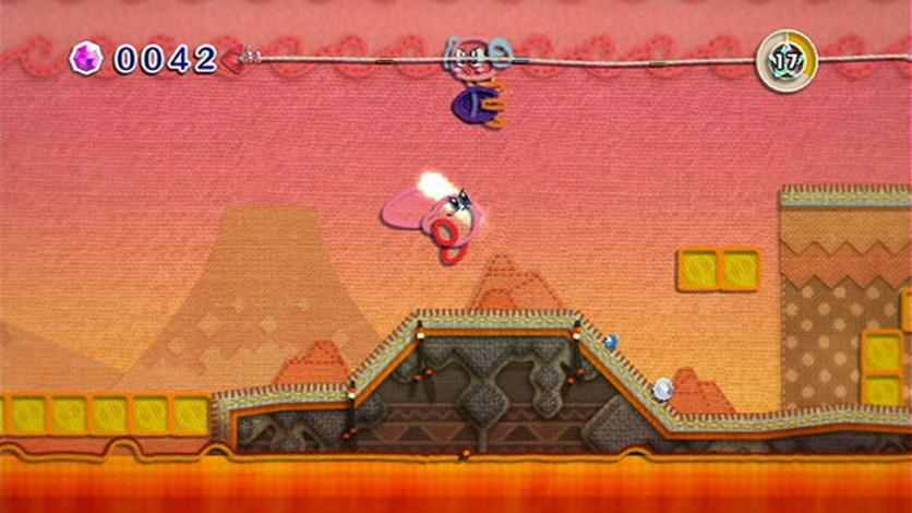 Screenshot 3 - Kirby's Epic Yarn