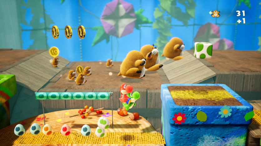 Screenshot 3 - Yoshi's Crafted World™