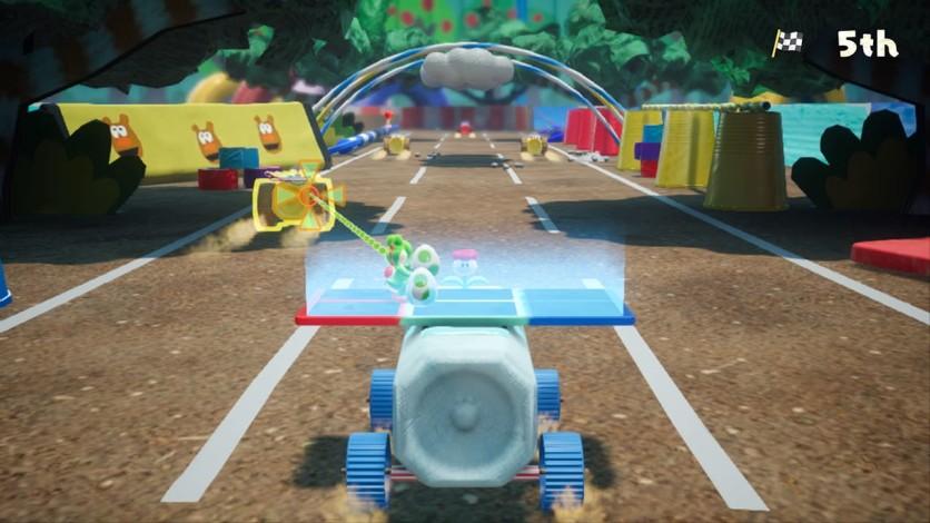 Screenshot 4 - Yoshi's Crafted World™