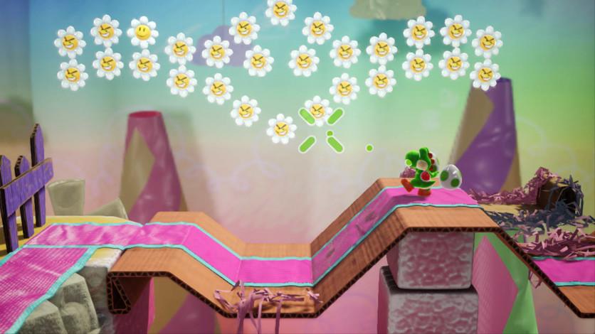 Screenshot 2 - Yoshi's Crafted World™