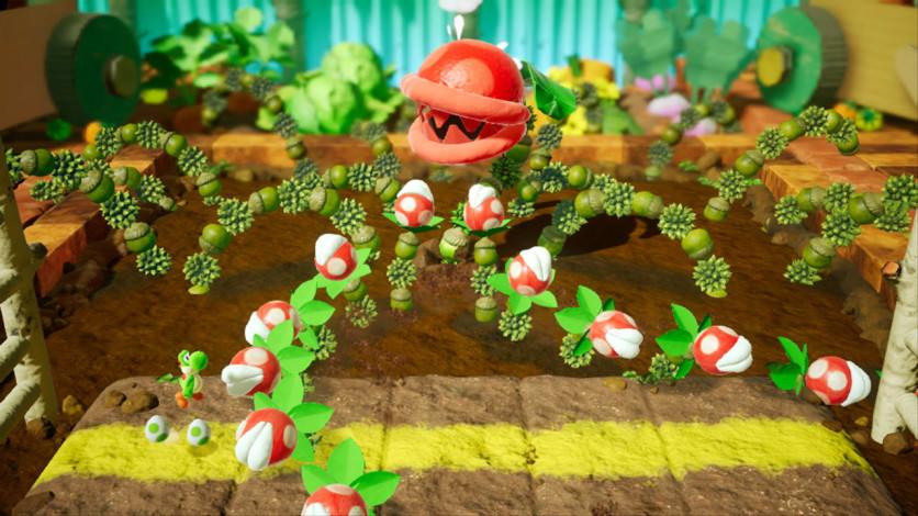 Screenshot 5 - Yoshi's Crafted World™