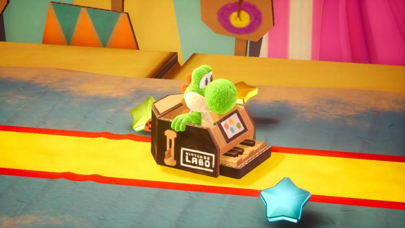 Screenshot 7 - Yoshi's Crafted World™