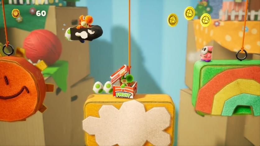 Screenshot 6 - Yoshi's Crafted World™