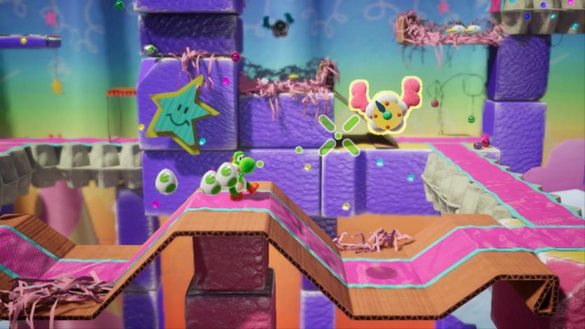 Screenshot 8 - Yoshi's Crafted World™