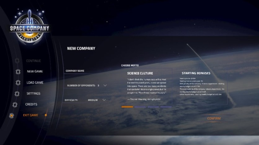 Screenshot 3 - Space Company Simulator
