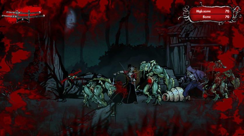 Screenshot 4 - Musashi vs Cthulhu