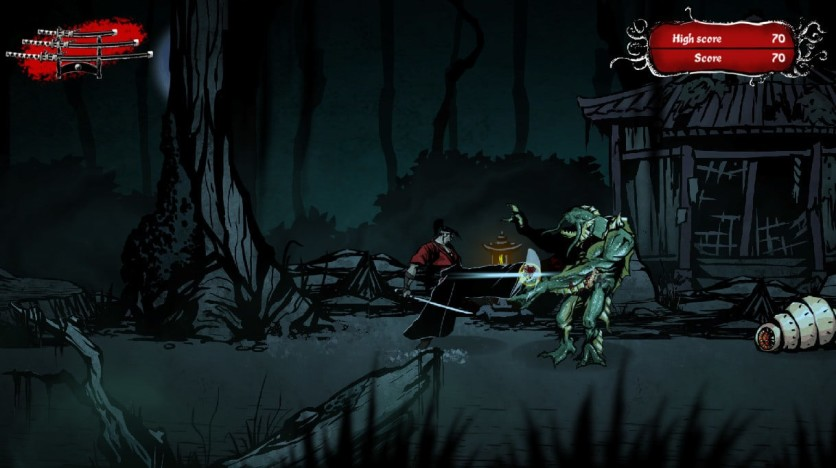 Screenshot 5 - Musashi vs Cthulhu