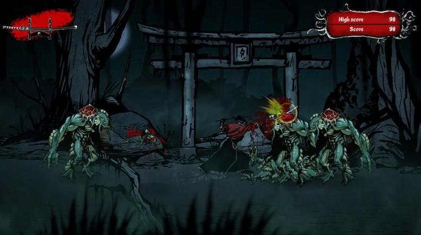 Screenshot 3 - Musashi vs Cthulhu