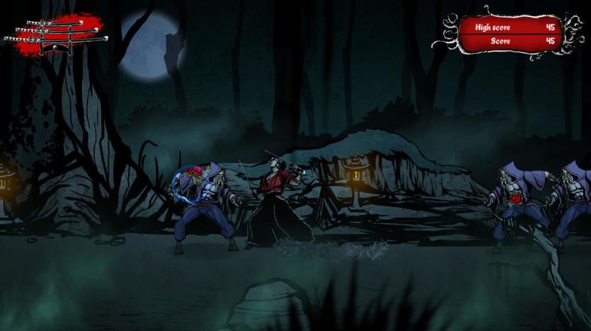 Screenshot 2 - Musashi vs Cthulhu