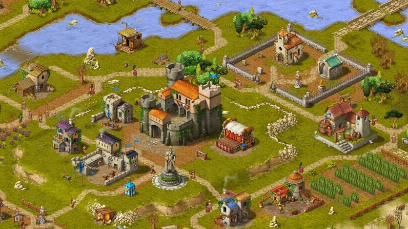 Screenshot 2 - Townsmen - A Kingdom Rebuilt: The Seaside Empire