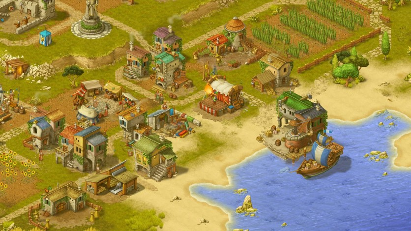 Screenshot 4 - Townsmen - A Kingdom Rebuilt: The Seaside Empire