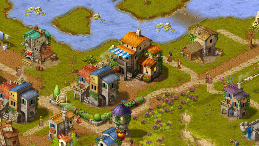 Screenshot 5 - Townsmen - A Kingdom Rebuilt: The Seaside Empire
