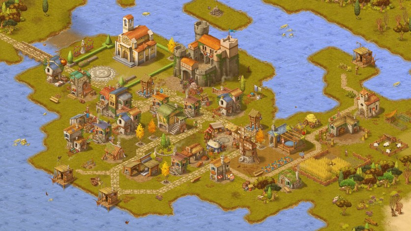 Screenshot 3 - Townsmen - A Kingdom Rebuilt: The Seaside Empire