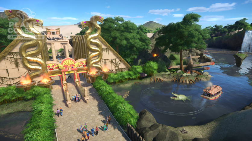 Screenshot 5 - Planet Coaster - Adventure Pack
