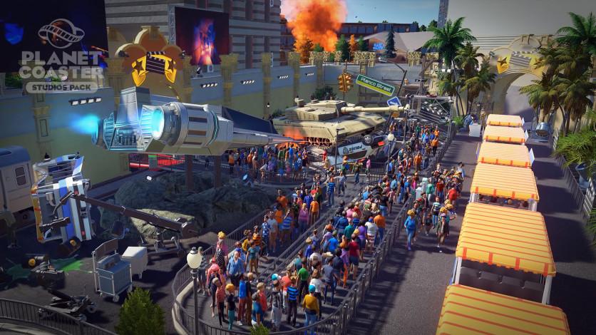 Screenshot 6 - Planet Coaster - Studios Pack