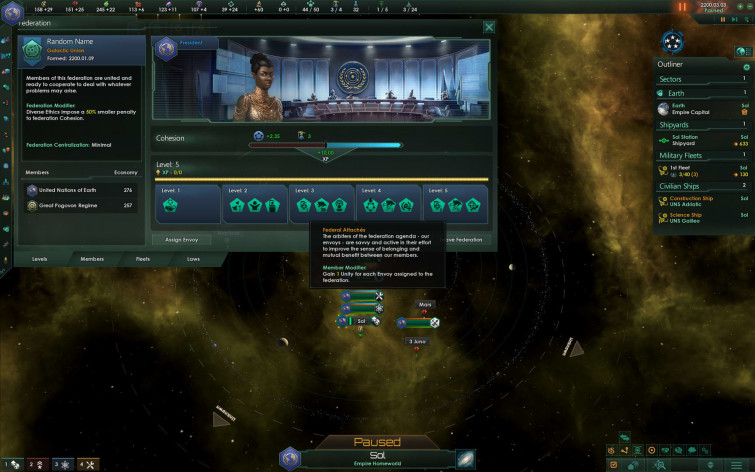 Screenshot 2 - Stellaris: Federations