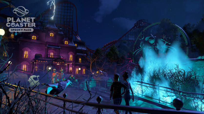 Screenshot 12 - Planet Coaster: Spooky Pack