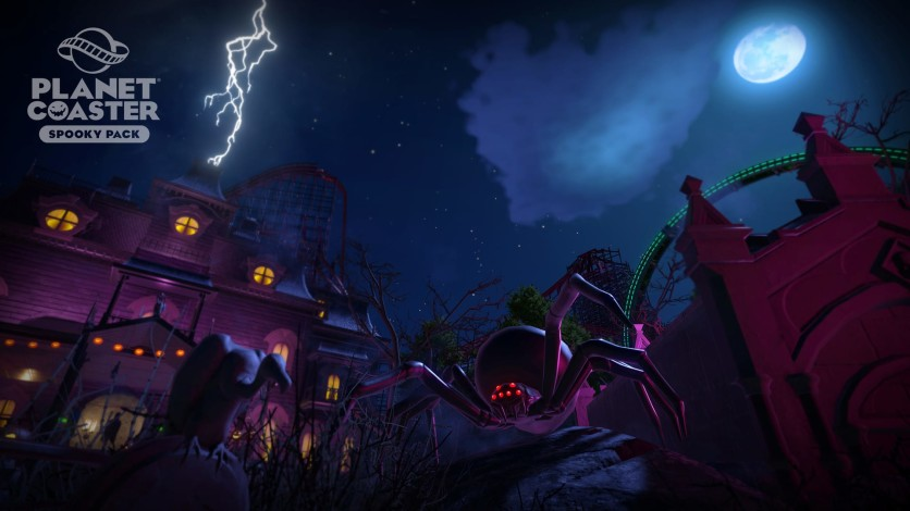 Screenshot 8 - Planet Coaster: Spooky Pack