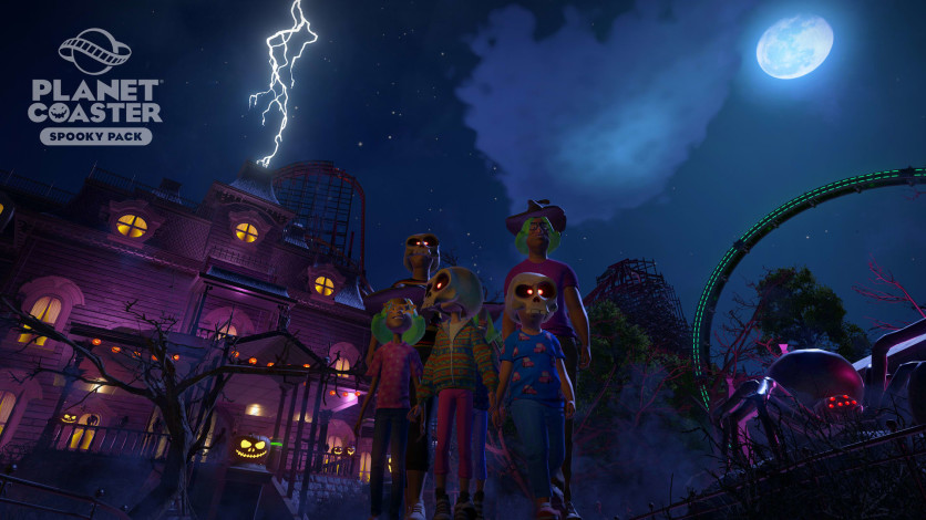 Screenshot 11 - Planet Coaster: Spooky Pack