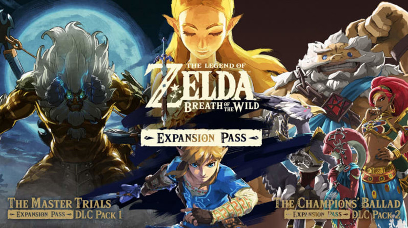 Screenshot 1 - The Legend of Zelda: Breath of the Wild Expansion Pass