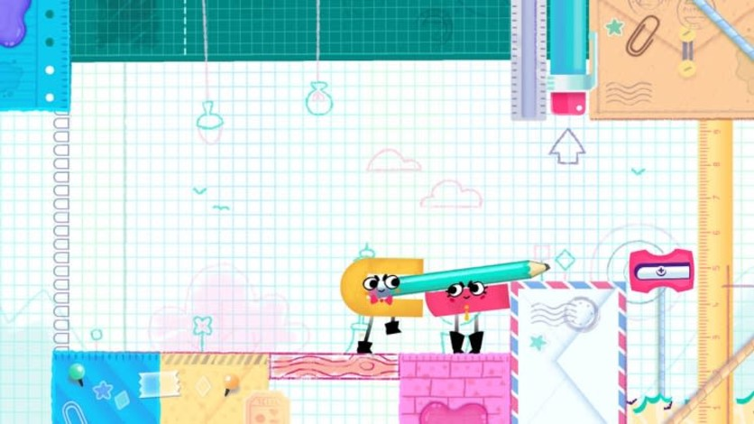 Screenshot 8 - Snipperclips™ – Cut it out, together!