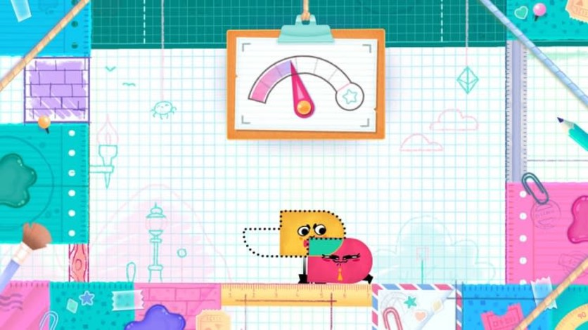Screenshot 3 - Snipperclips™ – Cut it out, together!