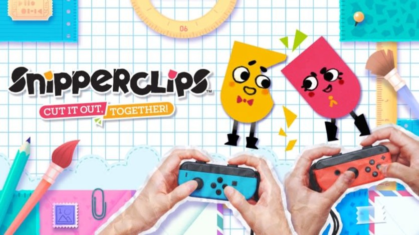 Screenshot 2 - Snipperclips™ – Cut it out, together!