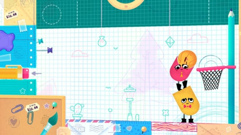 Screenshot 4 - Snipperclips™ – Cut it out, together!