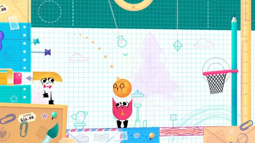 Screenshot 6 - Snipperclips™ – Cut it out, together!