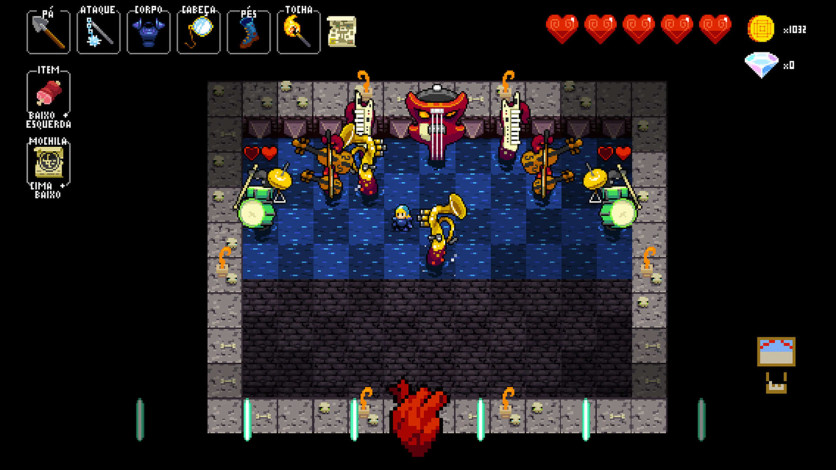 Screenshot 6 - Crypt of the NecroDancer