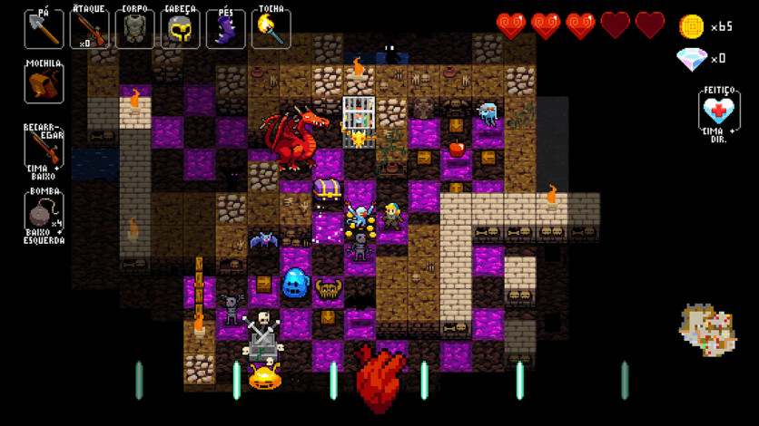 Screenshot 7 - Crypt of the NecroDancer