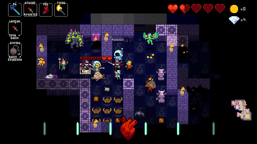 Screenshot 4 - Crypt of the NecroDancer