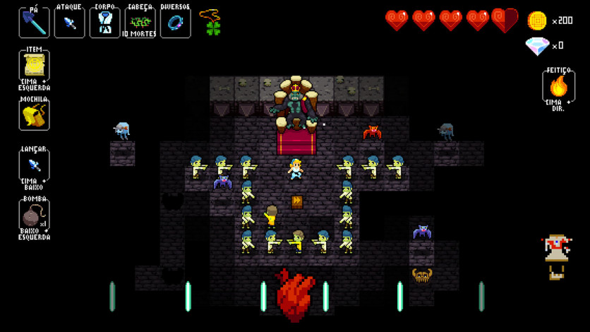 Screenshot 5 - Crypt of the NecroDancer