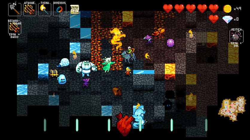 Screenshot 3 - Crypt of the NecroDancer