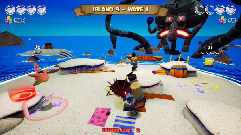 Screenshot 2 - SpongeBob SquarePants: Battle for Bikini Bottom - Rehydrated