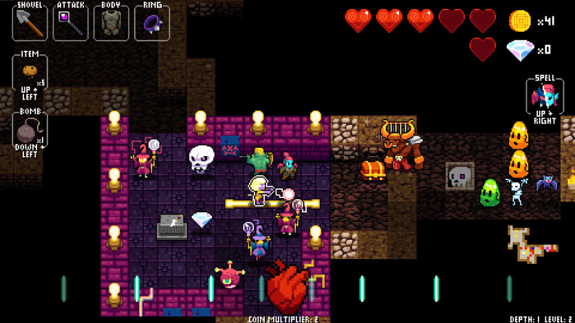Screenshot 4 - Crypt of the NecroDancer: AMPLIFIED