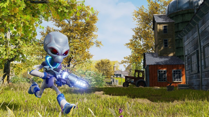 Screenshot 3 - Destroy All Humans!