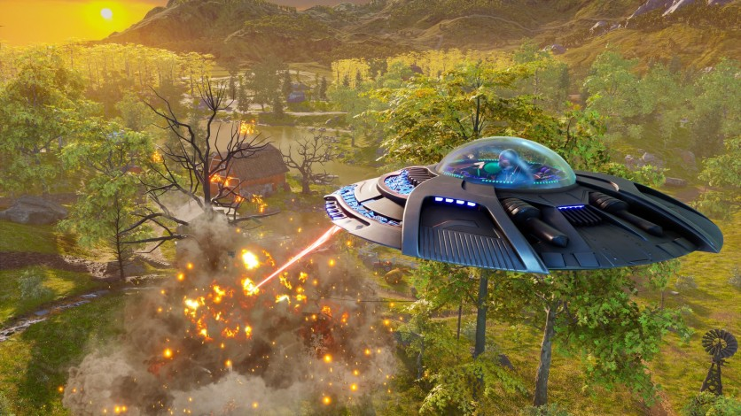 Screenshot 20 - Destroy All Humans!