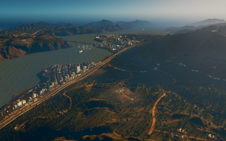 Screenshot 2 - Cities: Skylines - Coast to Coast Radio