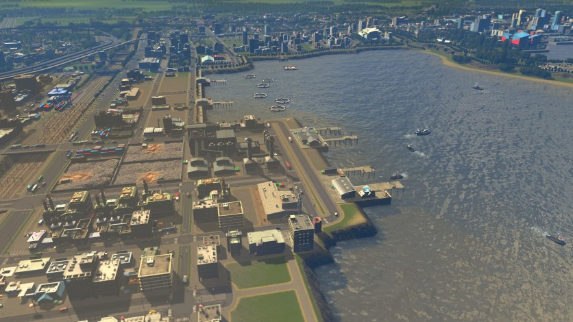 Screenshot 5 - Cities: Skylines - Sunset Harbor