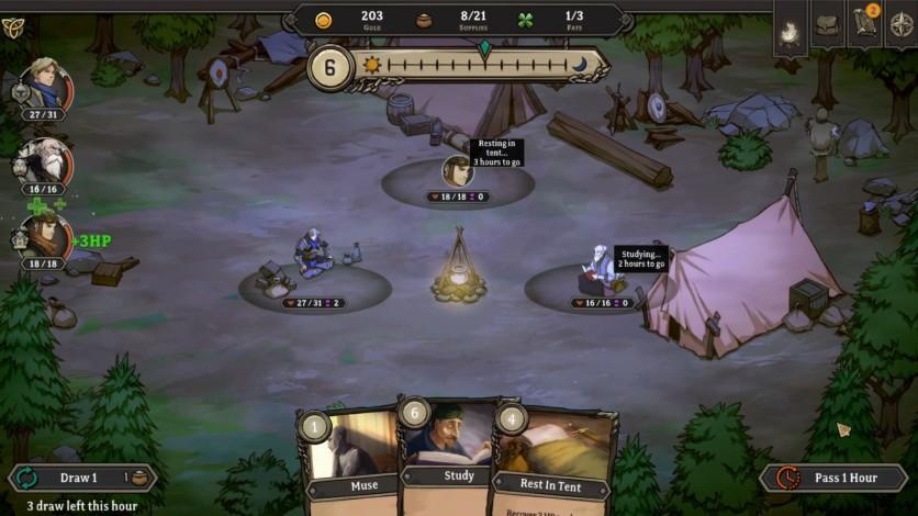 Screenshot 2 - Gordian Quest