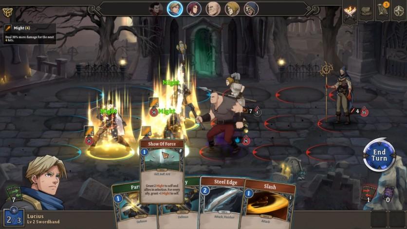 Screenshot 5 - Gordian Quest