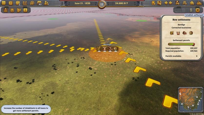 Screenshot 3 - Railway Empire - Down Under
