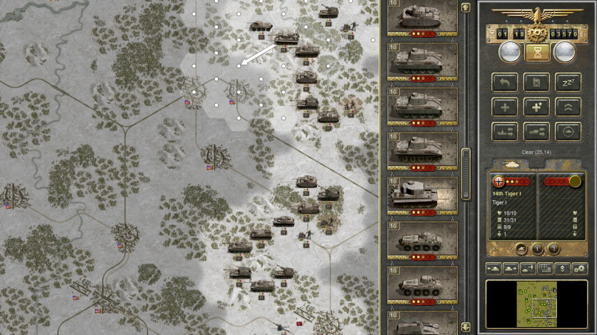 Screenshot 5 - Panzer Corps Gold