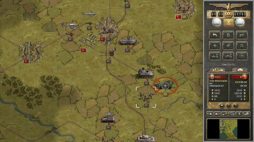 Screenshot 2 - Panzer Corps Gold
