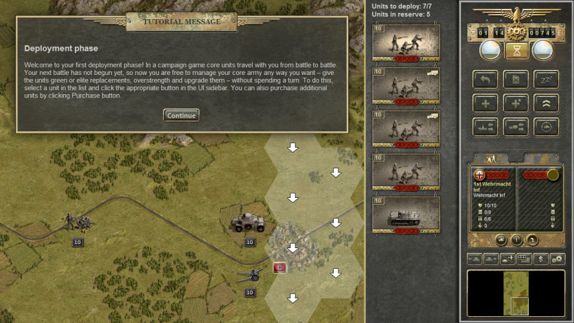 Screenshot 4 - Panzer Corps Gold